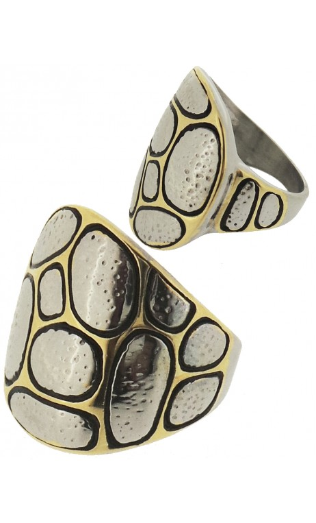 Anillo Dama Animal Print